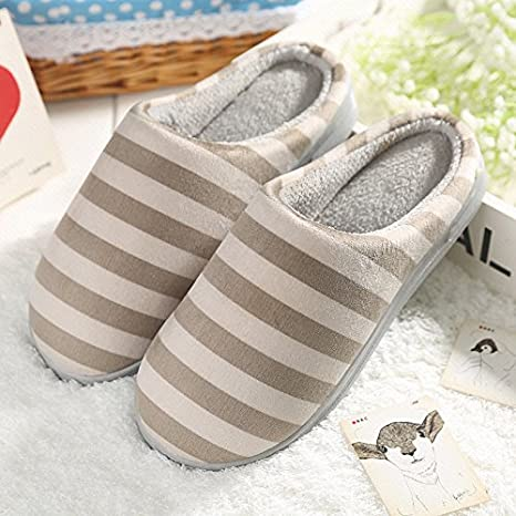 77a2d27be4cad Amazon.com : Aemember Winter Cotton Slippers Home Furnishing Woman ...