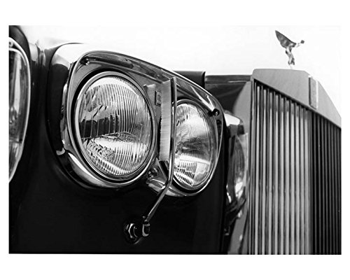 Headlamp System (1978 Rolls Royce Headlamp Cleaning System Factory Photo)