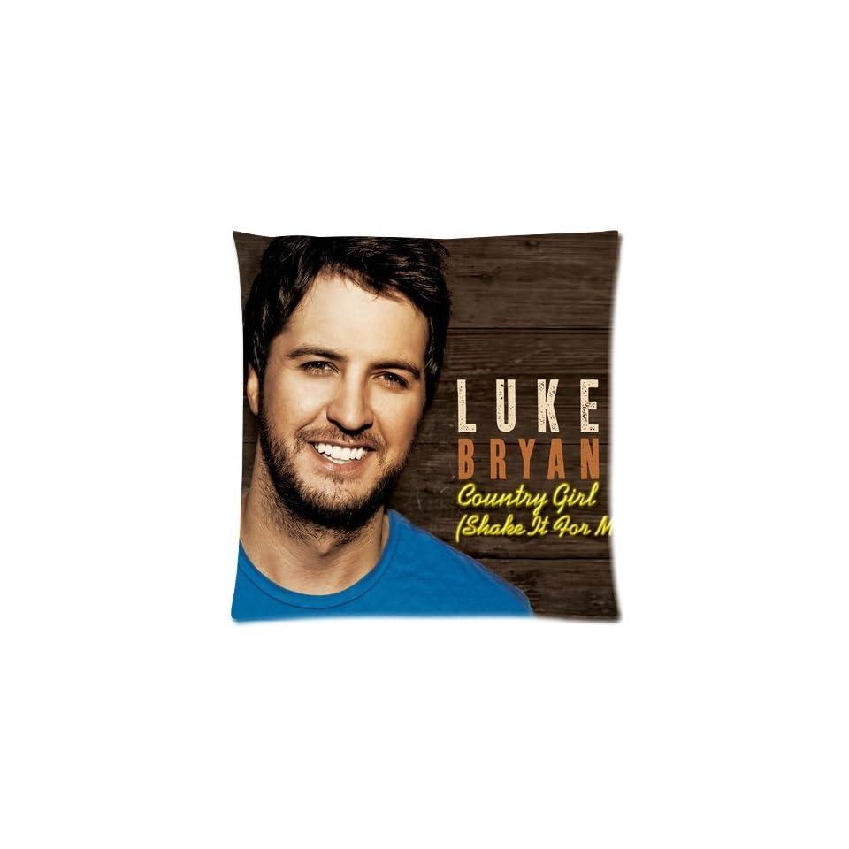 Soft home Luke Bryan Good looking Pillowcase Cushion Covers Diy Custom Case 2 Sides Size 18x18 D33 12