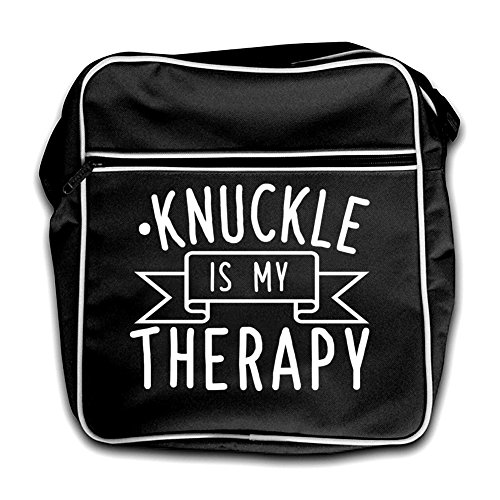 Knucklebumping Bag Black Is My Black Therapy Therapy My Knucklebumping Is Flight Retro Retro rvTPrq