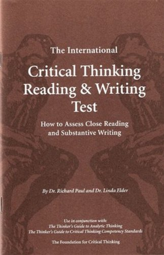foundations critical thinking reading and writing ebook