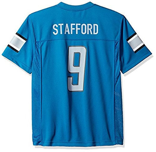 NFL Youth Matthew Stafford Detroit Lions Player Name & Number Jersey
