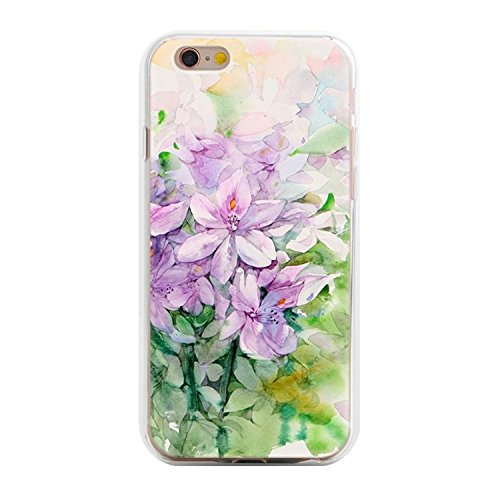 Desirca Phone Case Capa for iPhone 7 Cactus Cover Flower Rose Plant Leaves Silicone Shell Funda for iPhone 7 Plus 8 6 6S 5S Se 5 Pink for iPhone 7