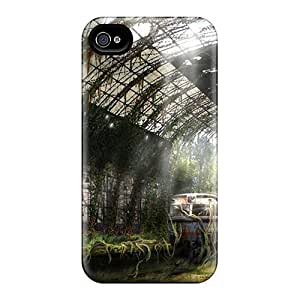 Iphone 4/4s Case, Premium Protective Case With Awesome Look - Overgrown by runtopwell