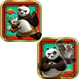 Kung Fu Panda Dessert Plates, 8ct