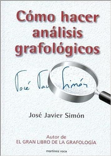 Amazoncom Como Hacer Analisis Grafologicos Spanish