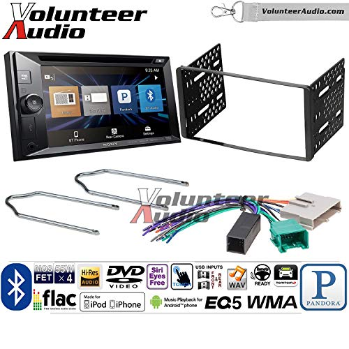 Volunteer Audio Sony XAV-W651BTN Double Din Radio Install Kit w/Bluetooth, Pandora, iPhone Control, USB, AUX, Navigation For 1995-1997 Ford Explorer, Ford Ranger, Lincoln Town Car
