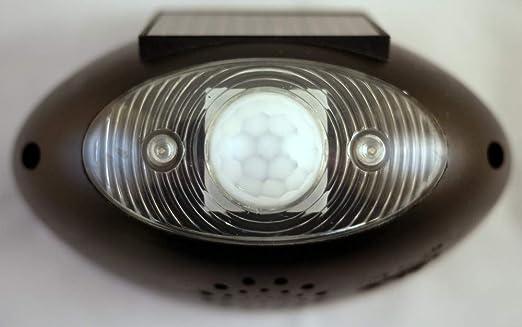 Solar Powered - Alarma con sensor y detector de movimiento ...