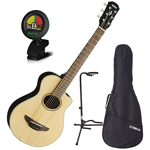 Yamaha APXT2 NA 3/4 Size Acoustic Electric Guitar Natural w/Gig Bag Tuner and Stand