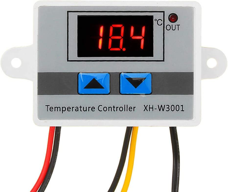 thermostat de contr/ôleur de temp/érature solaire pour chauffe-eau avec affichage num/érique de capteur Contr/ôleur de temp/érature