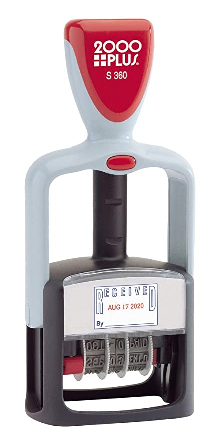 2000PLUS 4 In 1 Date Stamp And Message StampSelf Inking