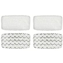 4 Pack Synonymous Replacement Bissell Symphony Pads for Bissell Symphony Steam Mop & Synonymous Microfiber Cloth