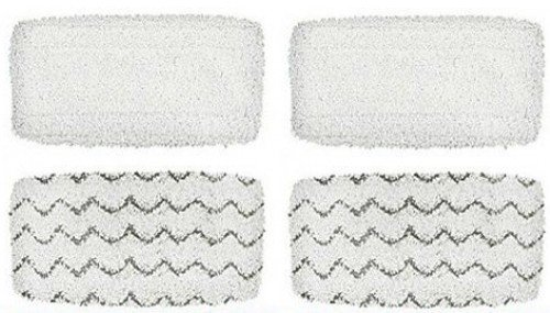 Steam Mop Pads Compatible with Bissell Symphony Steam Mop (4 Pads)