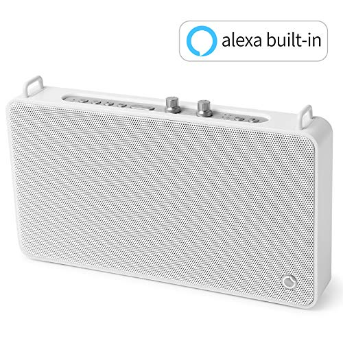 Portable Speaker GGMM Wifi Speaker Multiroom Speaker, Alexa Built-in Bluetooth Speaker with Treble and Bass Controls,20W Driver Wireless Speaker Supports Connection to Spotify Airplay DLNA iHeartRadio
