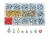 TOVOT 766 PCS PC Computer Screws Standoffs Set Computer Screws Assortment Kit for Motherboard