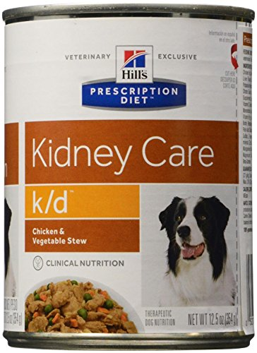 HILL'S PRESCRIPTION DIET k/d Canine Renal Health - Chicken & Vegetable Stew - 12x12.5oz