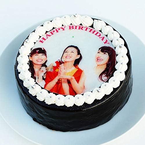 ザッハトルテ デコレーション 写真ケーキ 5号15cm