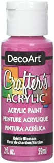 product image for DecoArt Crafter's Acrylic Paint, 2-Ounce, Thistle Blossom