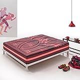 Zeng-Visco Turmaline Sport Mattress Memory Foam Mattress. Medium Firmness Level. 10 Inch, Queen