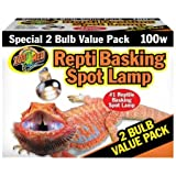 Amazon Com Zoo Med Heat Uvb Reptisun Basking Spot Lamp