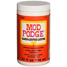 Mod Podge Waterbase Sealer, Glue and Finish (32-Ounce), CS11203 Gloss Finish