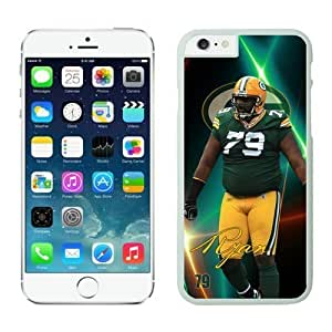 NFL Green Bay Packers Ryan Pickett Case Cover For Apple Iphone 4/4S White NFL Case Cover For Apple Iphone 4/4S 12381