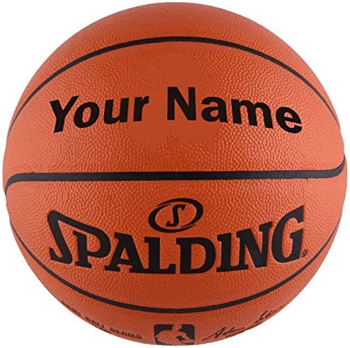 Customized Personalized Spalding NBA Replica Indoor Outdoor Basketball