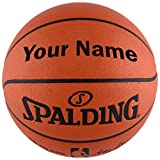 """Customized Personalized Spalding NBA Replica Indoor Outdoor Basketball (29.5"""")"""