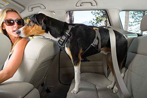 RUFFWEAR ★ LOAD UP CAR RESTRAINT SAFETY DOG HARNESS ★ SEATBELT ATTACHMENT ★ VEHICLE CRASH TESTED ★ ALL SIZES (L/XL)