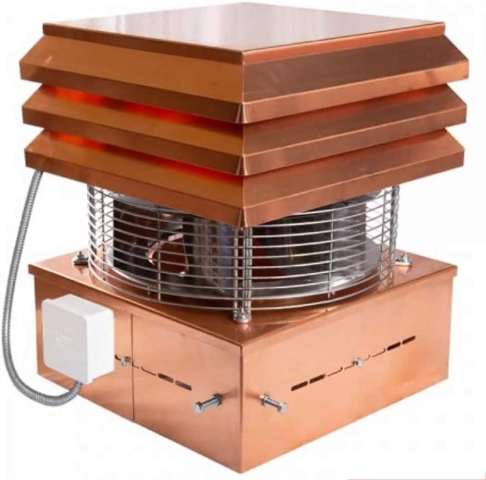Aspirador De Humos Modelo Profesional De Cobre Para Chimenea Extractores de humo para chimeneas para barbacoa, Gemi Elettronica: Amazon.es: Bricolaje y herramientas