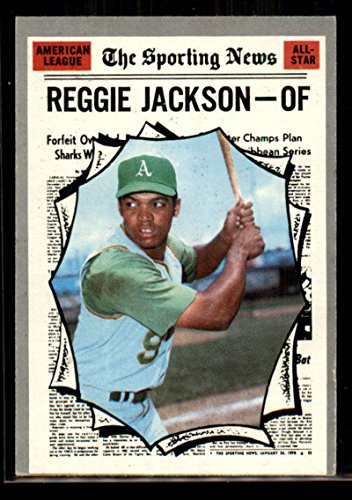 1970 Topps 459 Reggie Jackson EX/NM