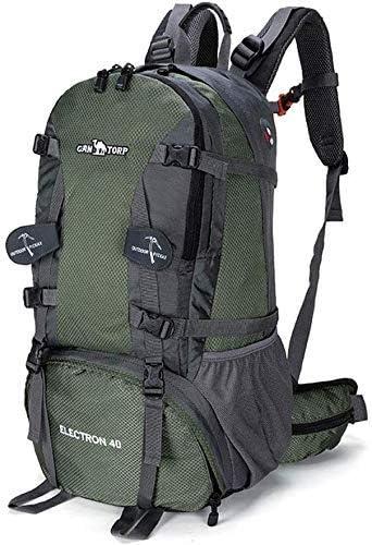 BAJIMI ハイキングバックパック、学生のバックパック、男性女性、ArmyGreen、64Cm×41センチメートル×25センチメートルのための旅行バックパック防水通気性のトレッキングハイキング登山クライミングキャンプリュックサック
