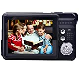 Compact digital Camera, Digitallife 2.7 inch TFT LCD 8x Digital Zoom HD 720P 18 Mega Pixels Video Camcorder With 2GB Memory Card and Battery for Kids,Adult and School Students