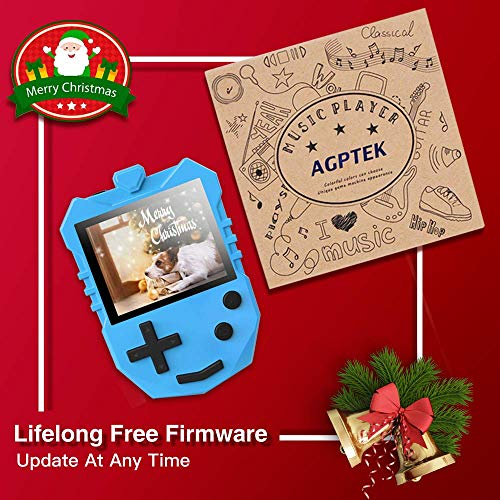 AGPTEK MP3 Player for Kids, K1 Portable 8GB Children Music Player with Built-in Speaker, FM Radio, Voice Recorder, Expandable Up to 128GB, Blue(Upgraded Version) by AGPTEK (Image #6)