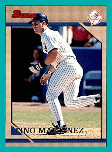(1996 Bowman #49 Tino Martinez NEW YORK YANKEES)