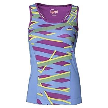 PUMA-Camiseta de tirantes para mujer sujetador integrado integrada Dry celdas, color , tamaño medium: Amazon.es: Deportes y aire libre