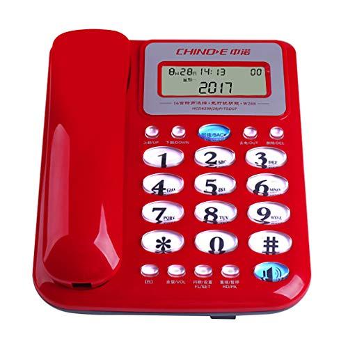 Hotel Speakerphone Line 2 (Home Corded Phone/Office Landline Caller ID/Call Waiting Speakerphone No Battery 20515770mm)