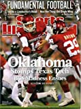 Sports Illustrated December 1 2008 Sam Bradford & Chris Brown/Oklahoma Sooners on Cover, Fundamental Football, Derrick Brooks/Tampa Bay Buccaneers, Annika Sorenstam, Andrei Kirilenko/Utah Jazz