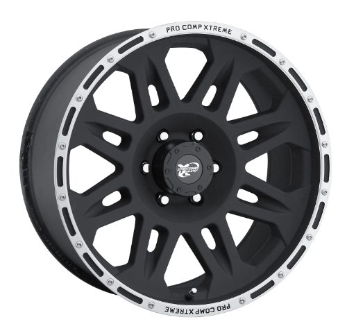Pro Comp Alloy 7105-7873 Xtreme Alloys Series 7105 Black Fin