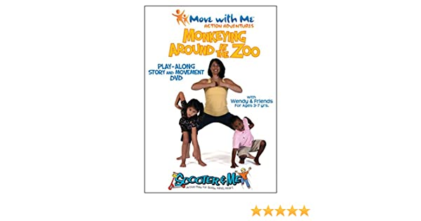 Amazon.com: Kids Yoga DVD – Monkeying Around at the Zoo ...