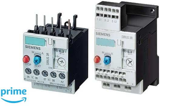 Siemens 3RU11 46-4ED0 Thermal Overload Relay, For Mounting