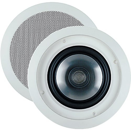 JBL SP6CII 2-way Round 6.5 In-Ceiling Speaker with Swivel Mount Tweeter (Pair) [並行輸入品] B078G9Z9TW