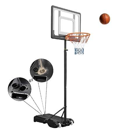 Canasta de baloncesto YXX Juguetes portátiles de Juego de aro de ...