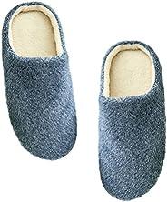 Pantufas peludas aconchegantes, femininas e masculinas, acolchoadas com algodão, sapatos felpudos de inverno p