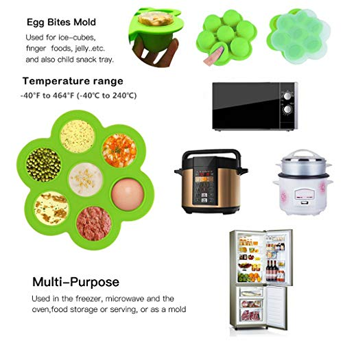 Air Fryer Accessories with Recipe Cookbook for Growise Phillips Fit Air 3.7QT 5.3QT Accessories Set of 8