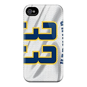 Fashion Protective Player Jerseys Case Cover For Iphone 4/4s