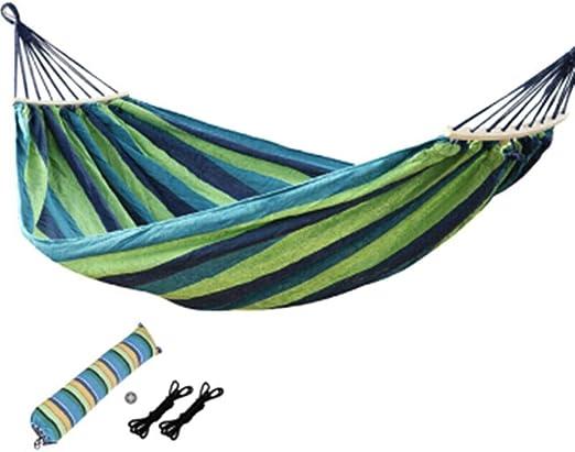 Acampar Hamaca Hamaca Jardín Uso Bar De Propagación De Madera ...