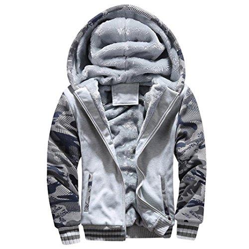 Men Coats And Jackets Winter Sale Warm Fleece Hood Zipper Sweater Outwear Sweatshirts For Men By Orangeskycn