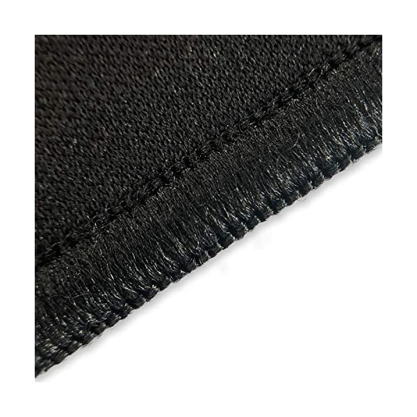 SteelSeries QcK Gaming Surface - Medium Stitched Edge Cloth - Extra Durable - Optimized For Gaming Sensors - Black