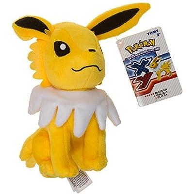 Pokemon XY Evolutions Jolteon 8-Inch Plush: Toys & Games